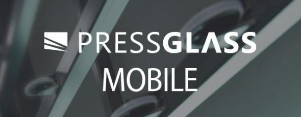 PRESS GLASS introducing a mobile application