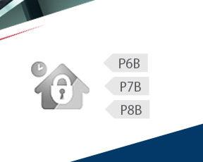 We protect against burglary in class P6B, P7B, P8B